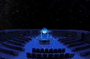 Der Sternensaal im Planetarium Bochum Foto ©: Stadt Bochum, Presse- u. Informationsamt
